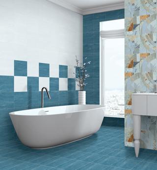 Digital Wall Tiles | Polished Porcelain Tile | Slim Slab